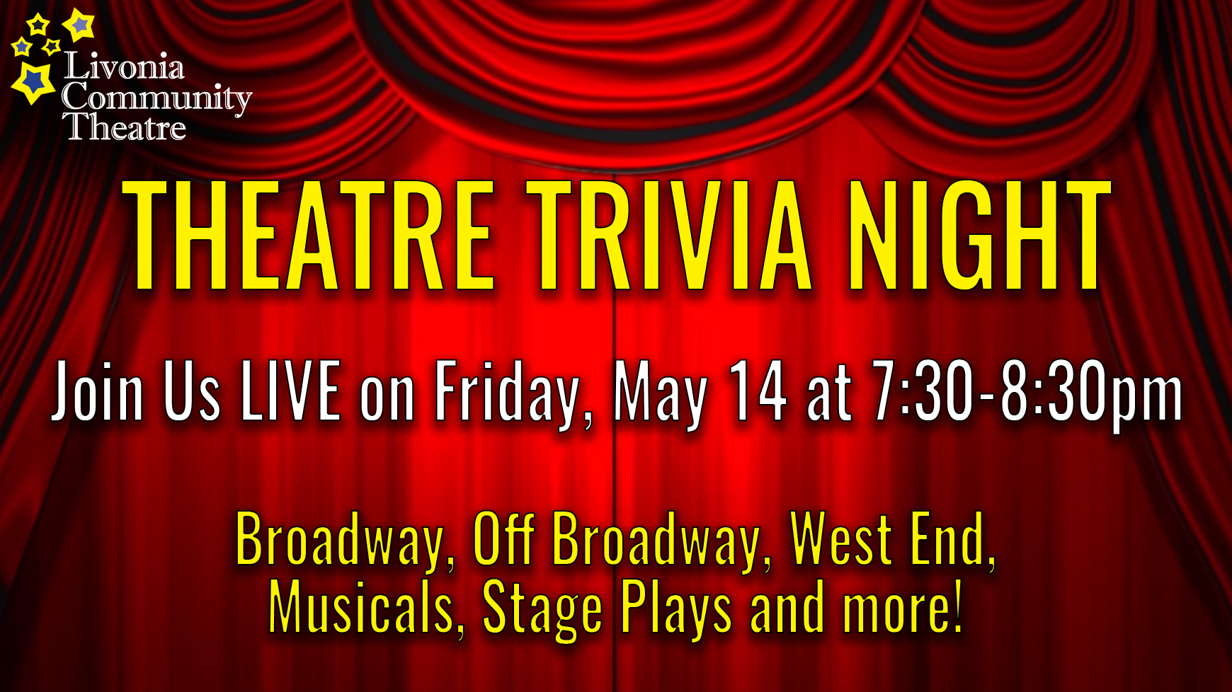 Theatre Trivia Night LIVE