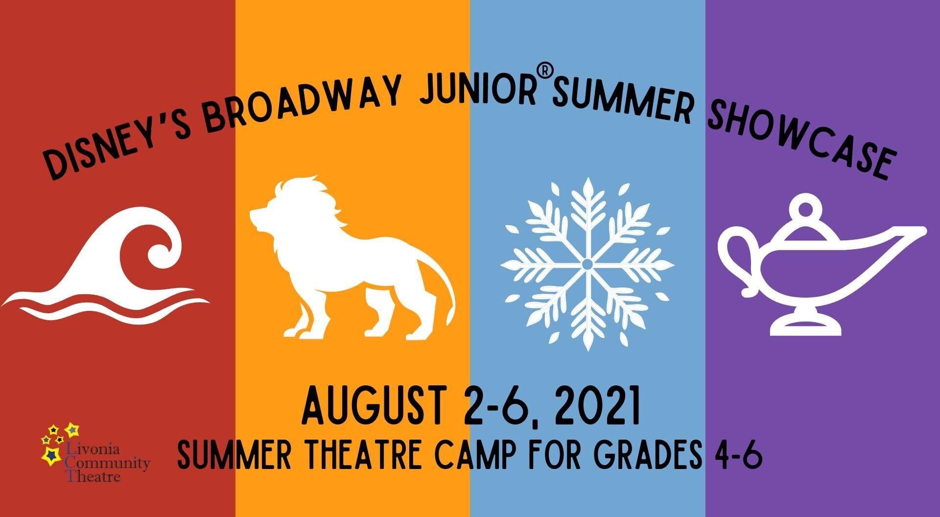 Livonia Community Theatre Kids Camp